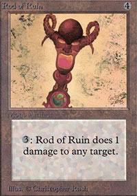 Rod of Ruin - Limited (Alpha)