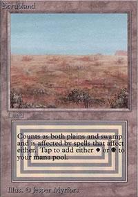 Scrubland - Limited (Alpha)
