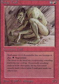 Sedge Troll - Limited (Alpha)
