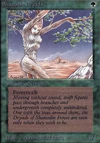 Shanodin Dryads - Limited (Alpha)