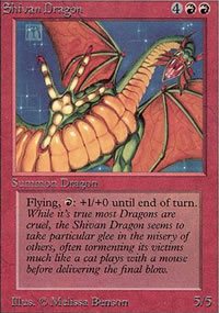 Shivan Dragon - Limited (Alpha)