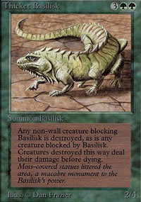 Thicket Basilisk - Limited (Alpha)