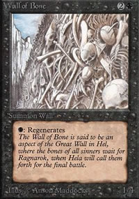 Wall of Bone - Limited (Alpha)