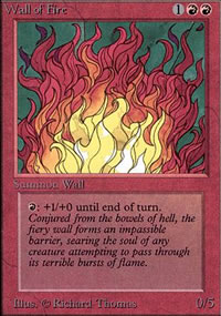 Wall of Fire - Limited (Alpha)