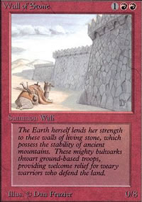 Wall of Stone - Limited (Alpha)