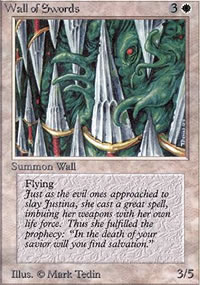 Wall of Swords - Limited (Alpha)