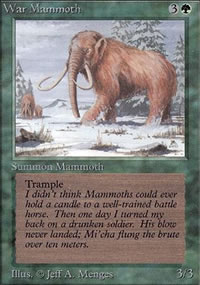 War Mammoth - Limited (Alpha)