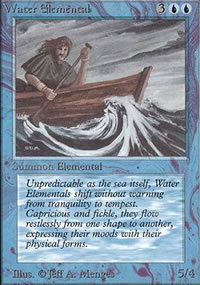 Water Elemental - Limited (Alpha)