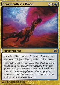 Stormcaller's Boon - Alara Reborn