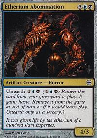 Etherium Abomination - Alara Reborn