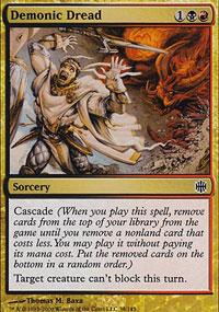 Demonic Dread - Alara Reborn