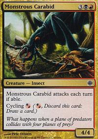 Monstrous Carabid - Alara Reborn