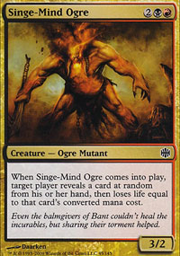 Singe-Mind Ogre - Alara Reborn