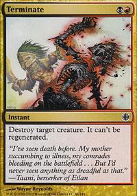 Terminate - Alara Reborn