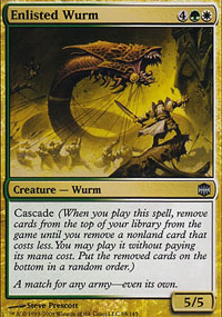 Enlisted Wurm - Alara Reborn