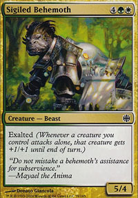 Sigiled Behemoth - Alara Reborn