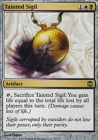 Tainted Sigil - Alara Reborn