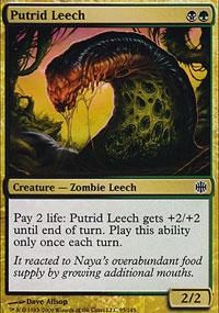 Putrid Leech - Alara Reborn