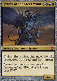 Sphinx of the Steel Wind - Alara Reborn