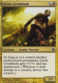 Grixis Grimblade - Alara Reborn
