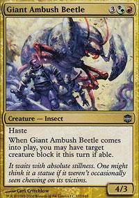 Giant Ambush Beetle - Alara Reborn