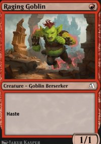 Raging Goblin - MTG Arena