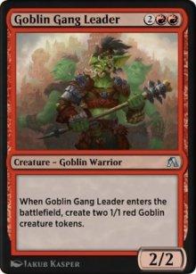 Goblin Gang Leader - MTG Arena