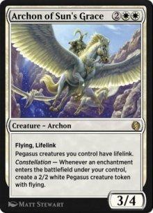 Archon of Sun's Grace - MTG Arena
