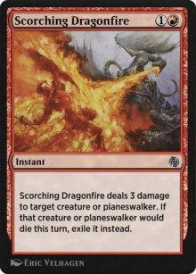 Scorching Dragonfire - MTG Arena