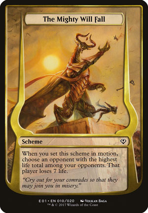 The Mighty Will Fall - Archenemy: Nicol Bolas
