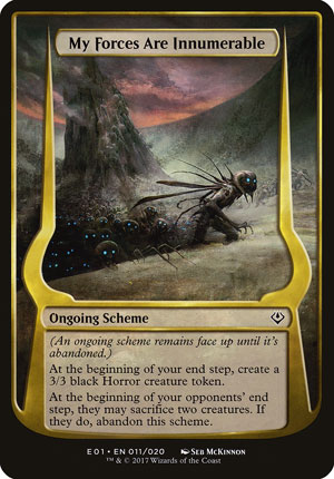 My Forces Are Innumerable - Archenemy: Nicol Bolas