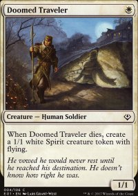 Doomed Traveler - Archenemy: Nicol Bolas decks