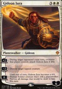 Gideon Jura - Archenemy: Nicol Bolas decks