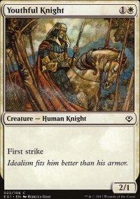 Youthful Knight - Archenemy: Nicol Bolas decks