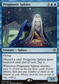 Prognostic Sphinx - Archenemy: Nicol Bolas decks