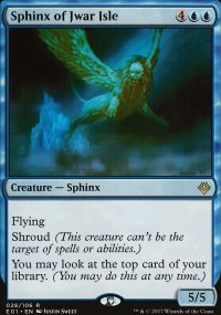 Sphinx of Jwar Isle - Archenemy: Nicol Bolas decks