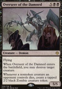 Overseer of the Damned - Archenemy: Nicol Bolas decks