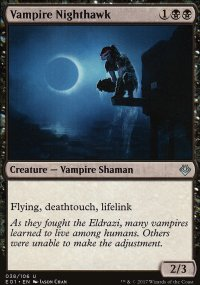 Vampire Nighthawk - Archenemy: Nicol Bolas decks