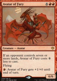 Avatar of Fury - Archenemy: Nicol Bolas decks