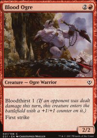 Blood Ogre - Archenemy: Nicol Bolas decks