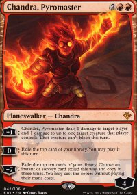 Chandra, Pyromaster - Archenemy: Nicol Bolas decks