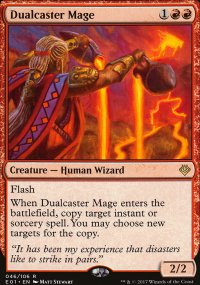 Dualcaster Mage - Archenemy: Nicol Bolas decks