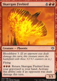 Skarrgan Firebird - Archenemy: Nicol Bolas decks