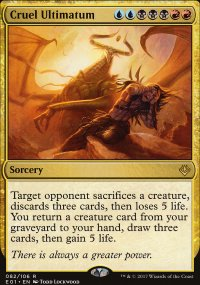 Cruel Ultimatum - Archenemy: Nicol Bolas decks