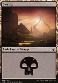 Swamp 1 - Archenemy: Nicol Bolas decks