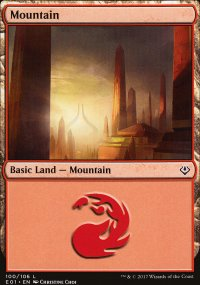 Mountain 1 - Archenemy: Nicol Bolas decks