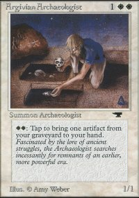 Argivian Archaeologist - Antiquities