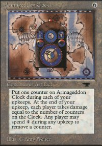 Armageddon Clock - Antiquities