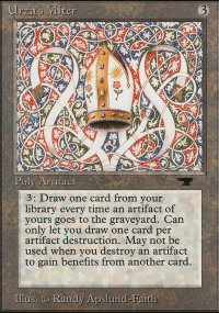 Urza's Miter - Antiquities