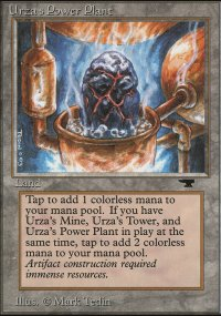 Urza's Power Plant 3 - Antiquities